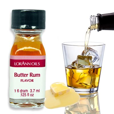 Butter Rum Flavor  1 dram