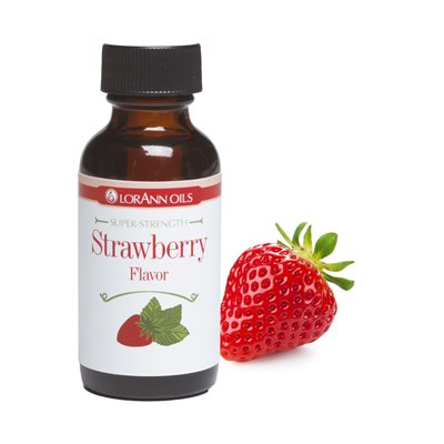 Strawberry Flavor  1  oz.