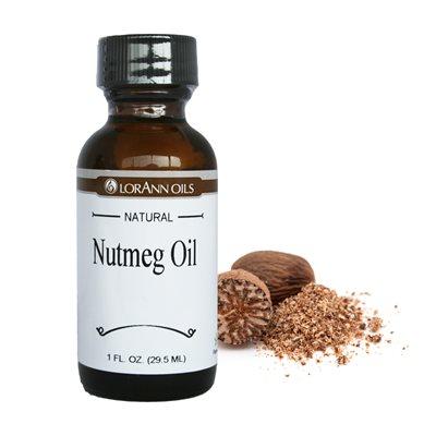 Nutmeg Oil, Natural 1  oz.