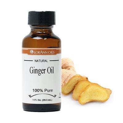 Ginger Oil, Natural 1  oz.