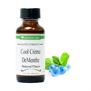 Cool Creme De Menthe Flavor, Natural