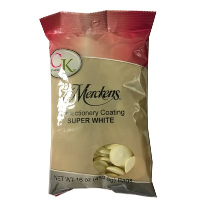 Super White Vanilla Candy Wafers   1 lb. bag