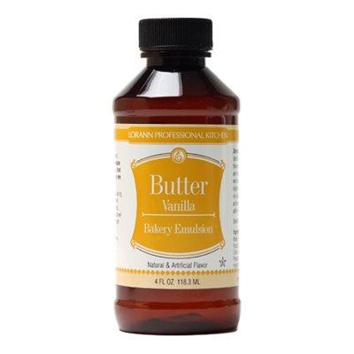 Butter Vanilla, Bakery Emulsion 4  oz.