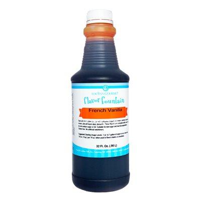 French Vanilla, Flavor Fountain
