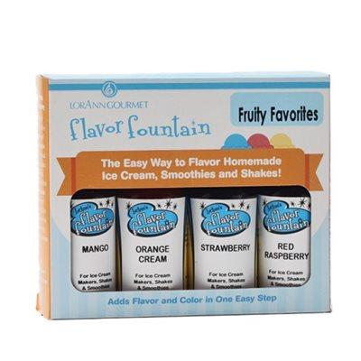 4-Pack Flavor Fountain, Fruity Favorites Assortment