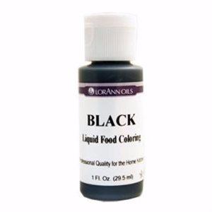 Black Liquid Food Color