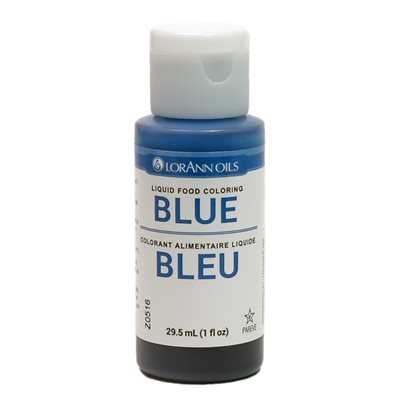 Blue Liquid Food Color 1  oz.