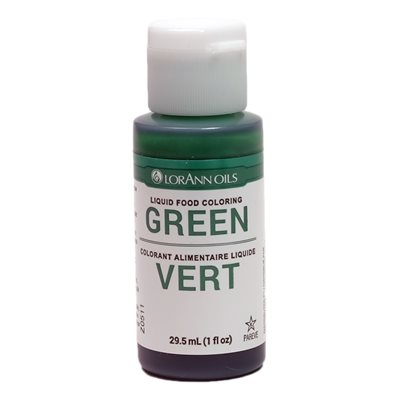 Green Liquid Food Color 1  oz.