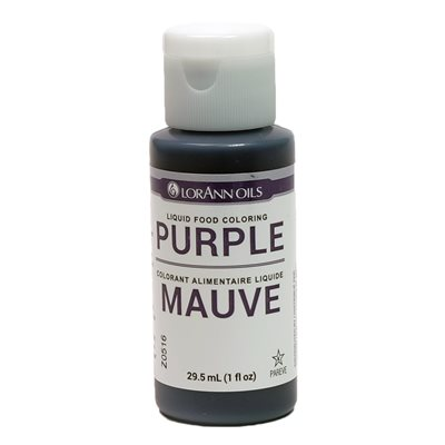 Purple Liquid Food Color 1  oz.