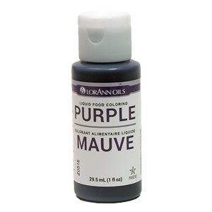 Purple Liquid Food Color