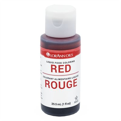 Red Liquid Food Color 4 oz.