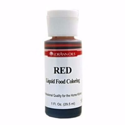 Red Liquid Food Color 1  oz.