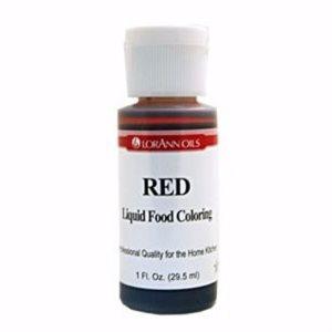 Red Liquid Food Color
