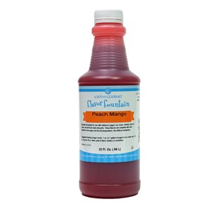 Peach Mango, Flavor Fountain