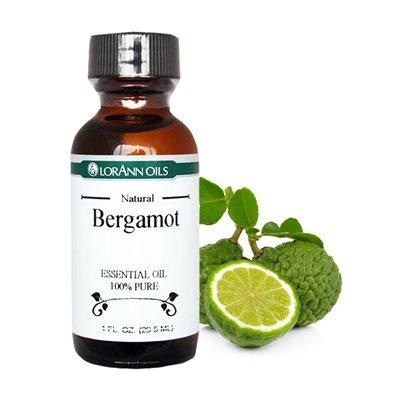 Bergamot Oil, Natural 1 oz.