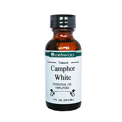 Camphor Oil (White), Natural 1 oz.