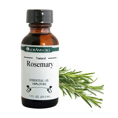 Rosemary Oil, Natural 1  oz.