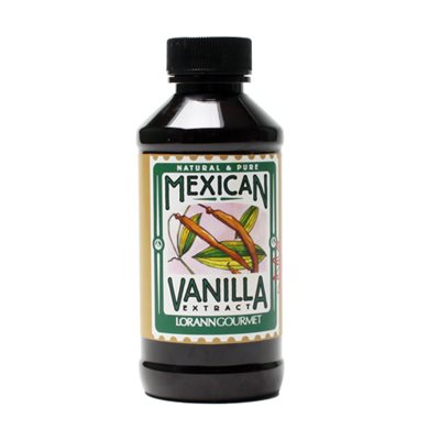 Mexican Vanilla Extract  4  oz.