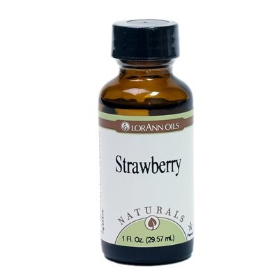 Strawberry, Natural 1  oz.