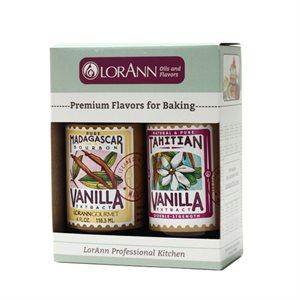 2-pack, Madagascar Vanilla & Tahitian Vanilla