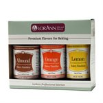 3 Pack, Almond & Orange & Lemon Emulsions
