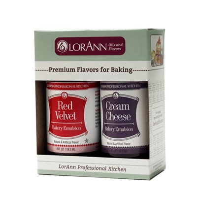 2-pack, Red Velvet & Cream Cheese Emulsions each