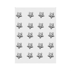 Stars Pieces Sheet Mold