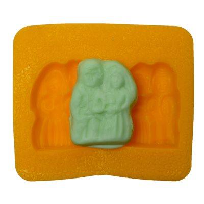 Bride and Groom Flex Mold