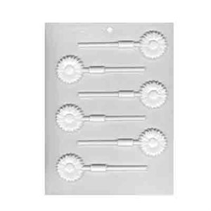 Daisies Lollipop Sheet Mold