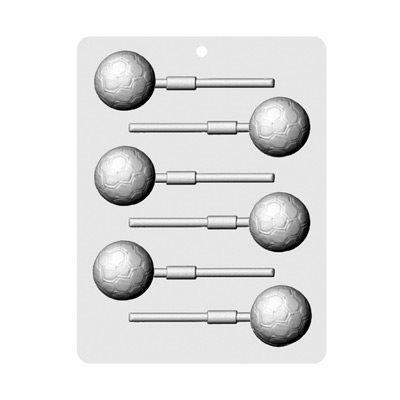Soccer Balls Lollipop Sheet Mold