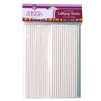 LOLLIPOP STICKS, LARGE (100 PACK)