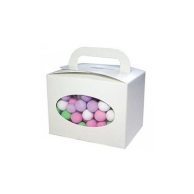 Candy Tote / Box with Window (8 pack)