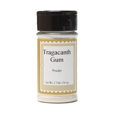 Tragacanth Gum Powder 2.7  oz. jar