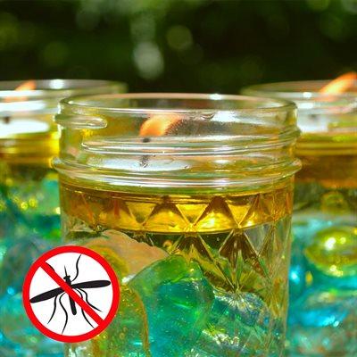 Citronella Oil Mason Jar Candles