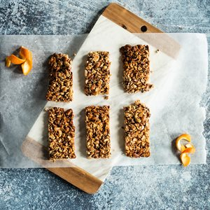 Nuts-About-Oranges Granola Bars