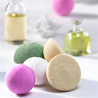 Scented Bath Ball Fizzies