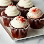 Quick Red Velvet Cake and Cupcakes