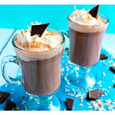 Toasted Coconut Hot Chocolate