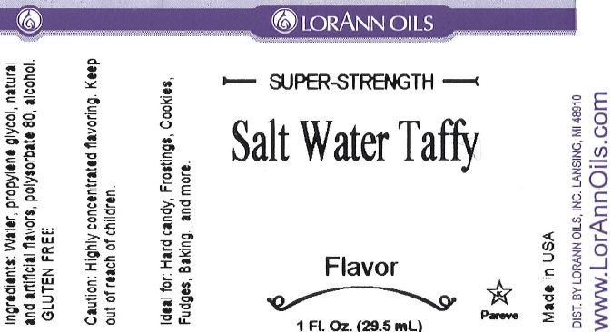 Salt Water Taffy Flavor 1-ounce | LorAnn oil