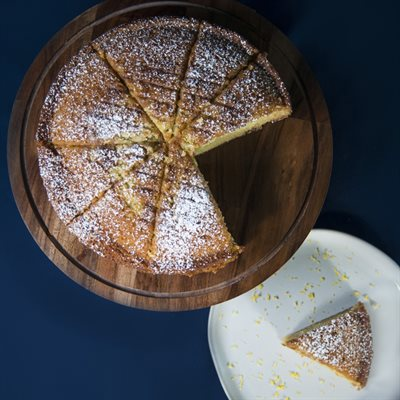 The Zest lemon Olive Oil Cake