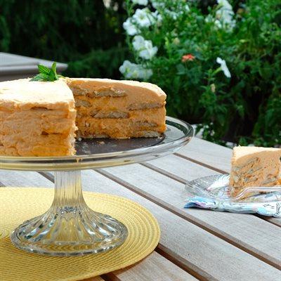 Orange Creamsicle Icebox Cake