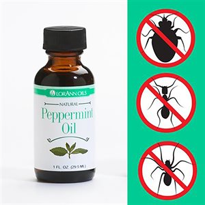 Peppermint Oil Natural Bug Repellent
