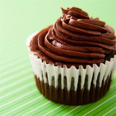 Irish Cream Chocolate Cupcakes