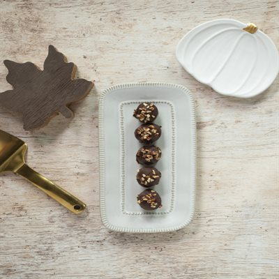 Decadent Dark Chocolate Maple Truffles